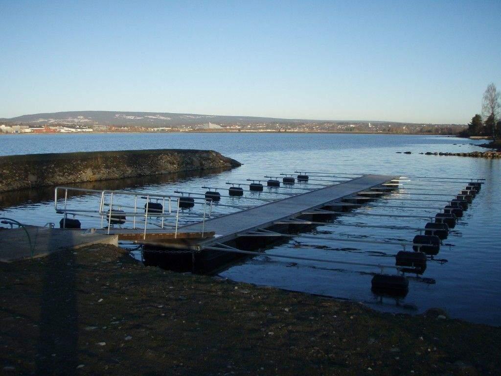 Sandvika strand i Mjøsa